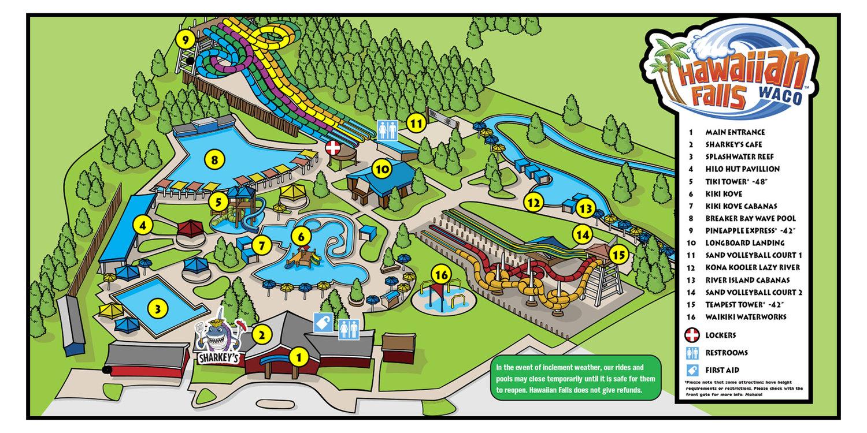 Park Map — Hawaiian Falls Image Of Map Waco Texas on map of salina texas, map of temple texas, map of lott texas, map of llano river texas, map of houston texas, map of killeen texas, map of stinnett texas, map of arlington texas, map of college station texas, map of southwest austin texas, map of winona texas, map of pflugerville texas, map of west texas, map of valley mills texas, map of cross plains texas, map of redwater texas, map of bremond texas, map of graford texas, map of downtown fort worth texas, map of calvert texas,