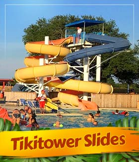 Tiki Tower Slides
